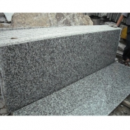 G439 Flower White Granite Slab