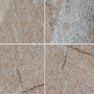 Q025 Rusty Quartzite