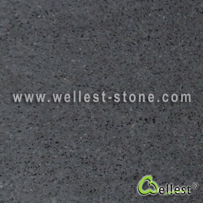 B403-H  Hinan Black Basalt Small Hole Honed Finish