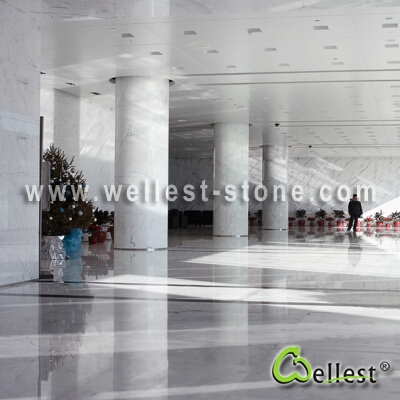 Calacatte White Marble Project