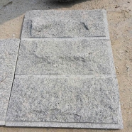 G603 Lunar Pearl Salted and Pepper Light Grey Granite Mushroom Tile