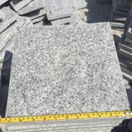 G603 Luner Pearl Salted and Pepper Light Grey Granite Mushroom Tile 2