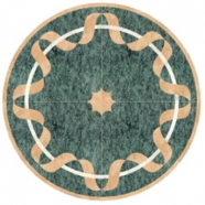 WJM-043 Marble Pattern Water Jet Medallion