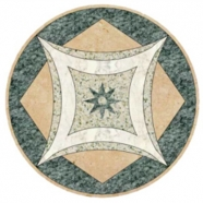 WJM-045 Marble Pattern Water Jet Medallion