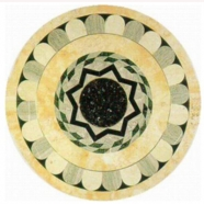 WJM-047 Marble Pattern Water Jet Medallion
