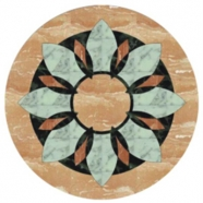 WJM-049 Marble Pattern Water Jet Medallion
