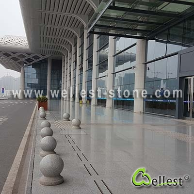 G603 Lunar Peral Grey Granite Polished Tile for Airport