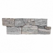 QL060 Landscape Grey Quzrtzite Cement Base Ledge stone