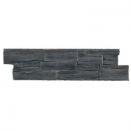 S018 Black Slate Cement Base Ledge Stone