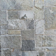 LS-101 Light Grey Green Limestone Loose Stone Pattern Brick