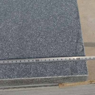 L828 Blue Stone Step with Sandblast Finish on top with 4mm bevel