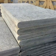 L828 Blue Grey Limestone Flamed Anti-slip Swimming Pool Coping 1