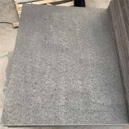 Diamond Black Granite Brushed Finish Paver