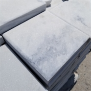 Q036 Cloudy Grey White Quartzite Marble Coping Stone With Bevel Edge 2