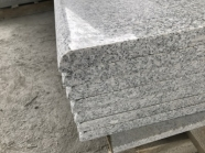 G603 Lunar Pearl Light Grey Granite Polished Treads 7